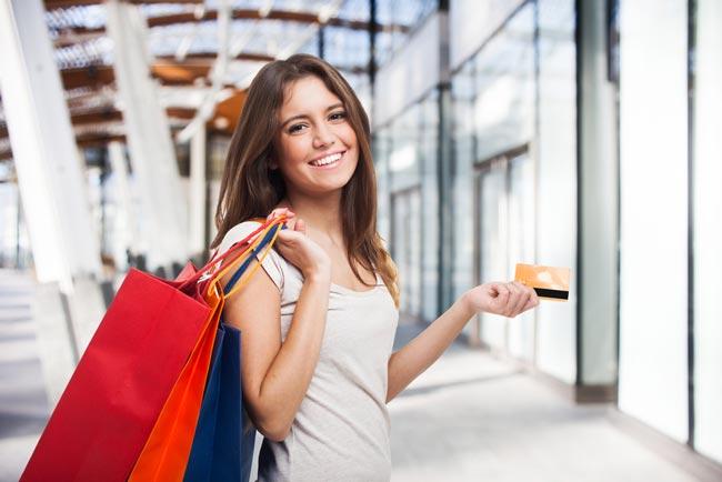 Handler med kredittkort